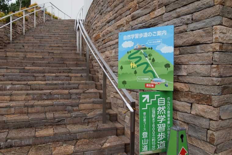 藻岩山の自然遊歩道