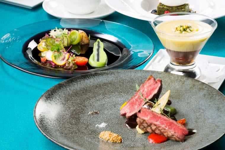 藻岩山 レストラン「THE JEWELS」のディナー