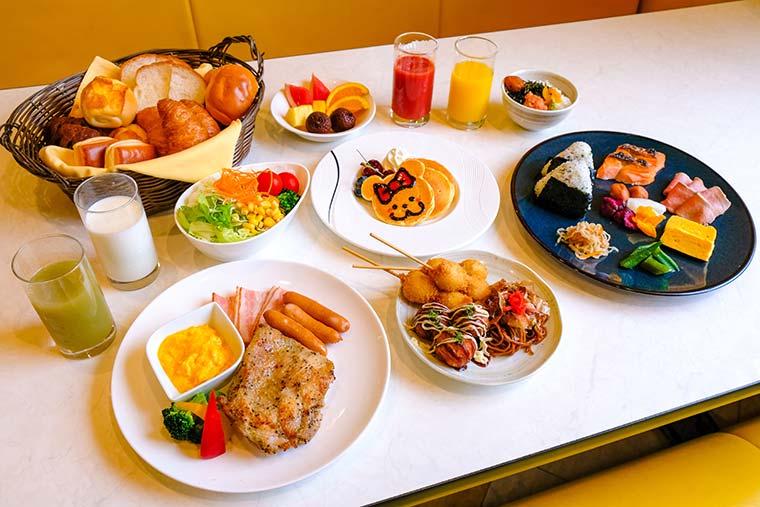 ホテル近鉄ユニバーサル・シティ 朝食ブッフェ