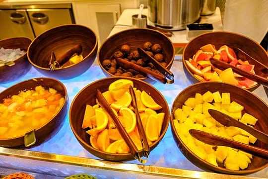 ホテル近鉄ユニバーサル・シティ 朝食ブッフェ フルーツ