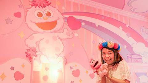ピンクのかわいいお部屋が女子に人気!ホテル近鉄ユニバーサル・シティ「モッピーのラッキー・ルーム」