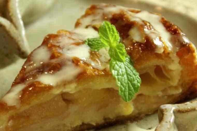 茶菓房 林檎の樹 南小国町店のあっぷるパイ