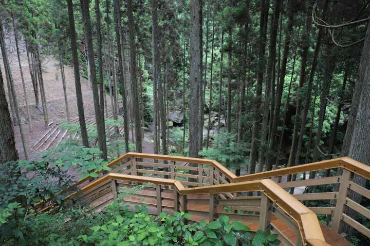 鍋ヶ滝公園を散策