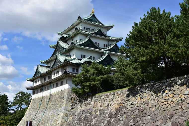 名古屋城 天守閣の撮影スポット