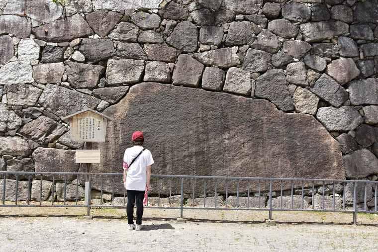 名古屋城 清正石
