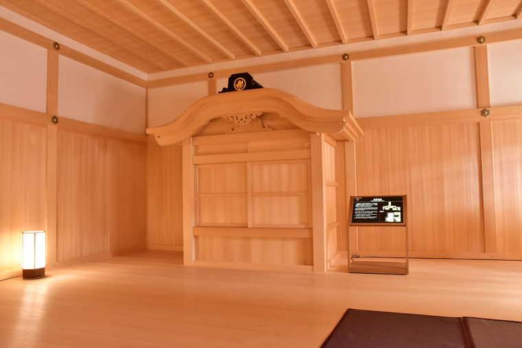 名古屋城 本丸御殿の湯殿書院
