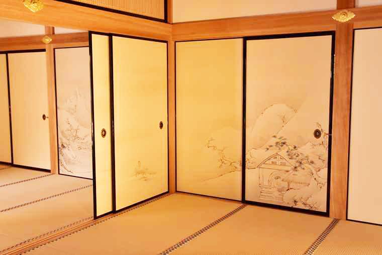 名古屋城 本丸御殿の黒木書院