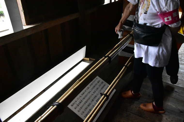 名古屋城 西南隅櫓の石落とし