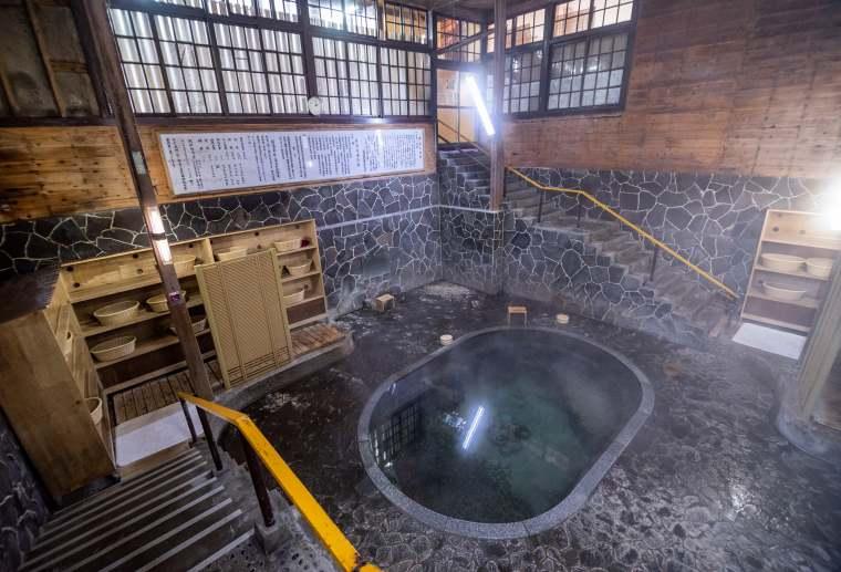 鉛温泉 藤三旅館 白猿の湯