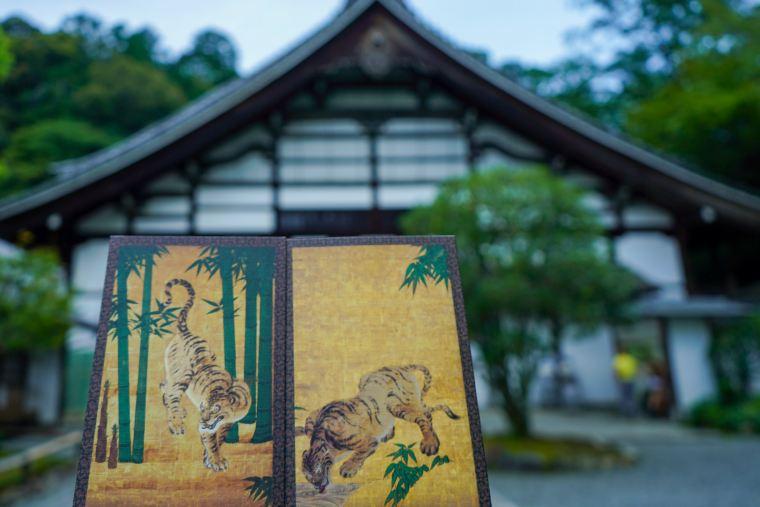 京都 南禅寺 方丈 群虎図