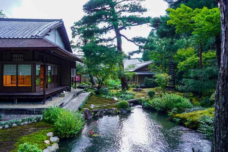 京都 南禅寺 湯豆腐 順正 庭園