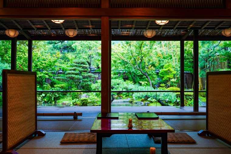 京都 南禅寺 八千代 庭園