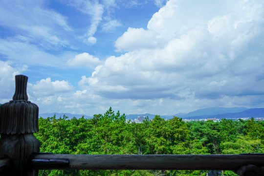 京都 南禅寺 三門 絶景