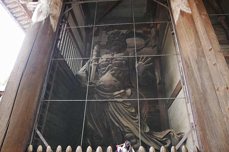 南大門の金剛力士像