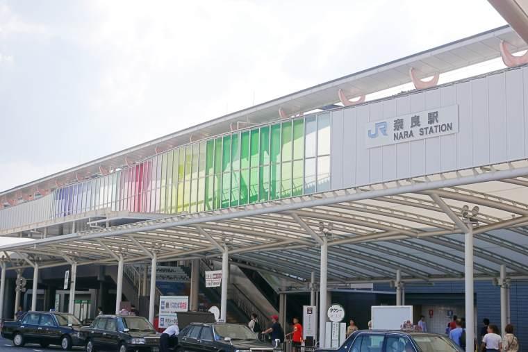 奈良公園の最寄り駅・JR奈良駅