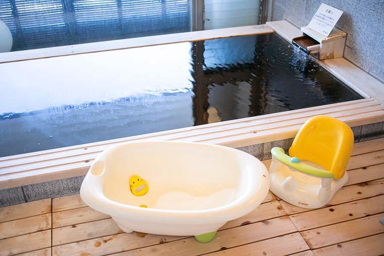 ベルナティオ 貸切家族風呂「檜の湯」
