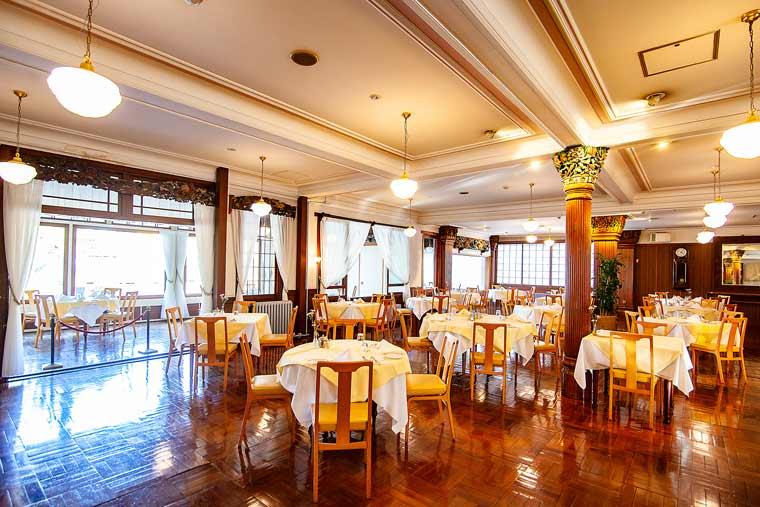 日光金谷ホテル ディナー