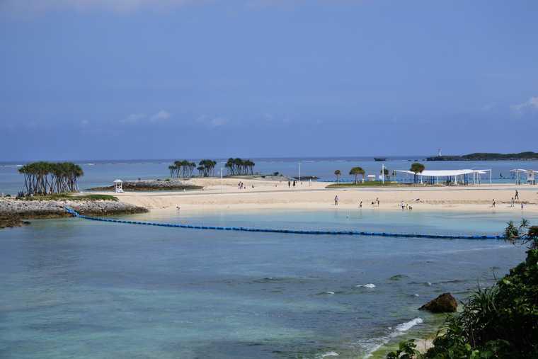 海洋博公園 エメラルドビーチ