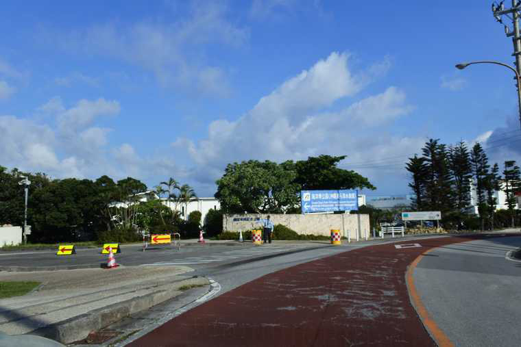 沖縄美ら海水族館 駐車場