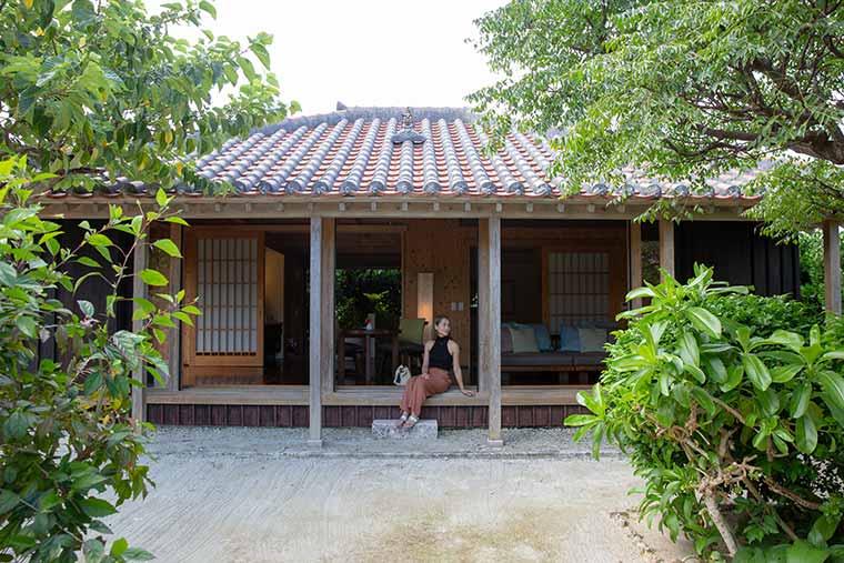 沖縄避粉旅行のすすめ 星のや竹富島