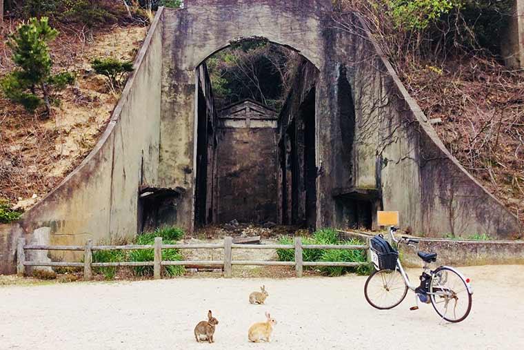 長浦貯蔵庫跡