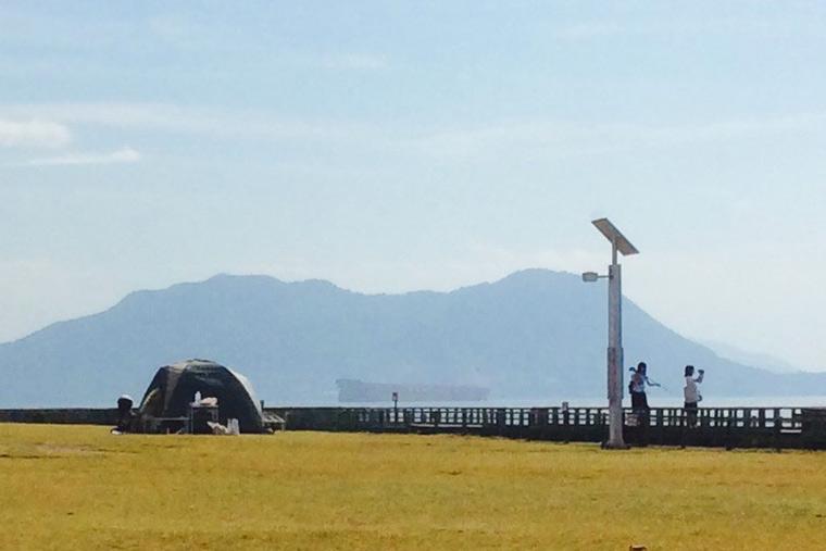 大久野島キャンプ場