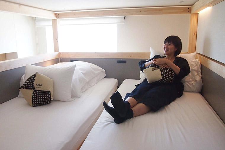 在「阁楼」上睡觉的体验也是不寻常的