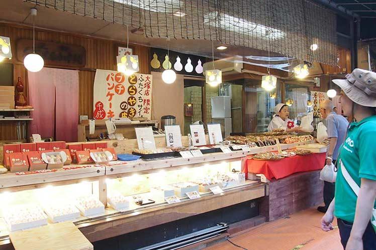 第2家 日式点心铺「千成豆馅糯米饼本铺大冢店」