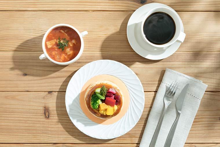 以感受「東京」的料理來迎接早晨