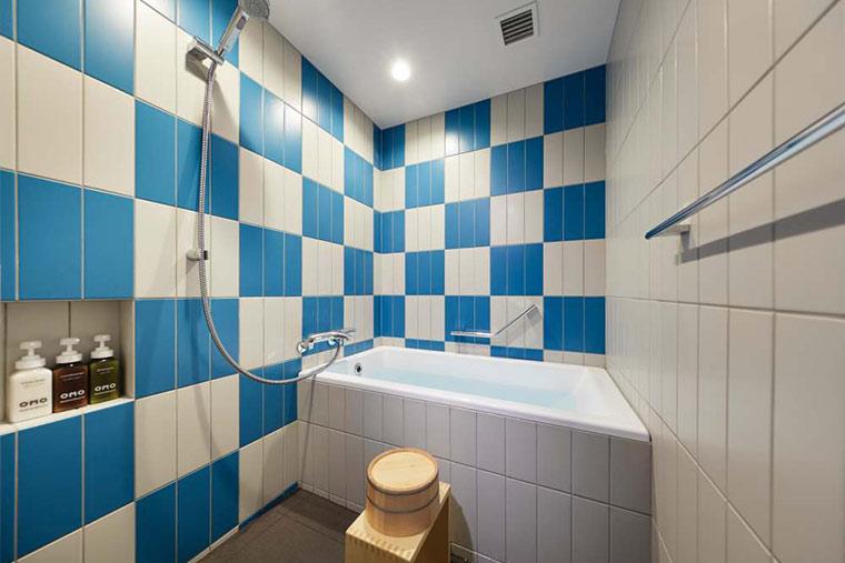 浴室空间宽敞,能够治愈旅途中的疲惫