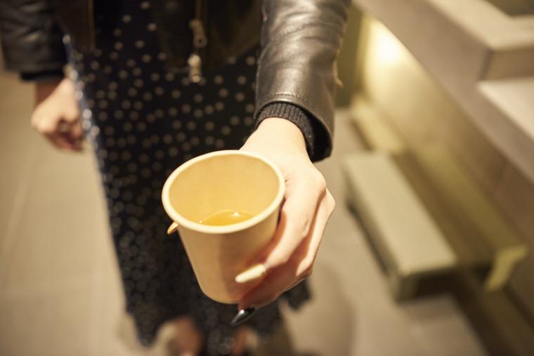 星野リゾート OMO7 旭川 ウェルカムドリンク「とうきび(とうもろこし)茶」