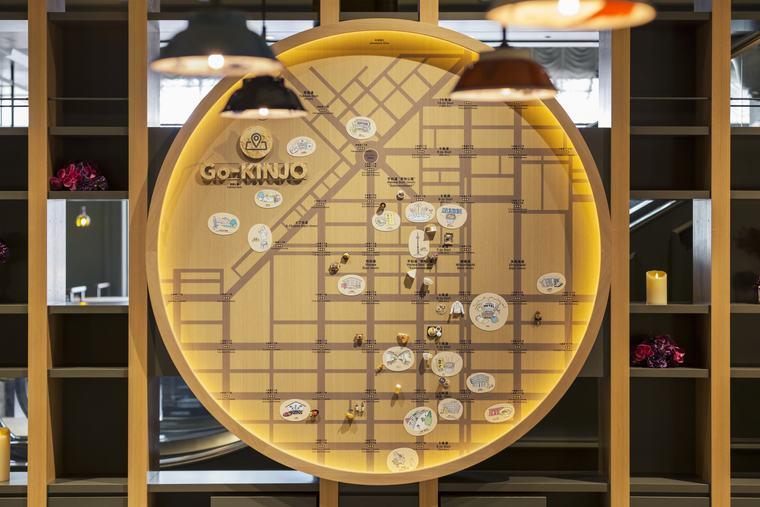 星野リゾート OMO7 旭川 Go-KINJOマップ