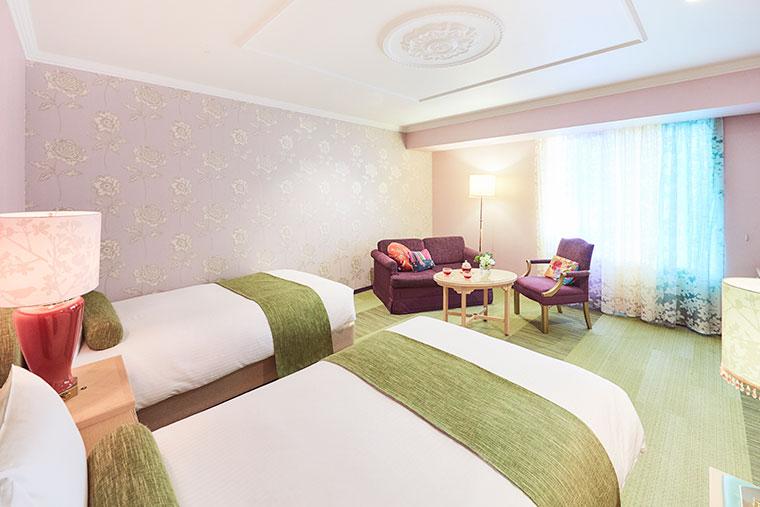 星野リゾート OMO7 旭川 コンセプトルーム 女子旅 ガーデンルーム