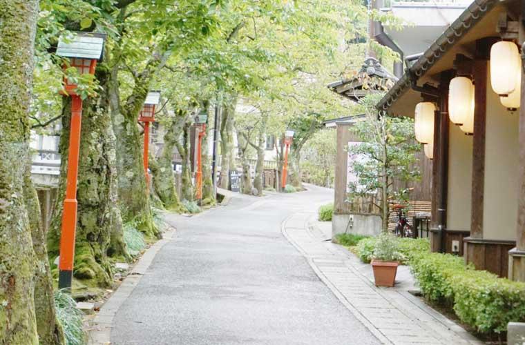 城崎温泉の木屋町小路