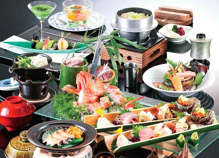 城崎温泉 西村屋ホテル招月庭 但馬山海の旬が振舞われる会席料理