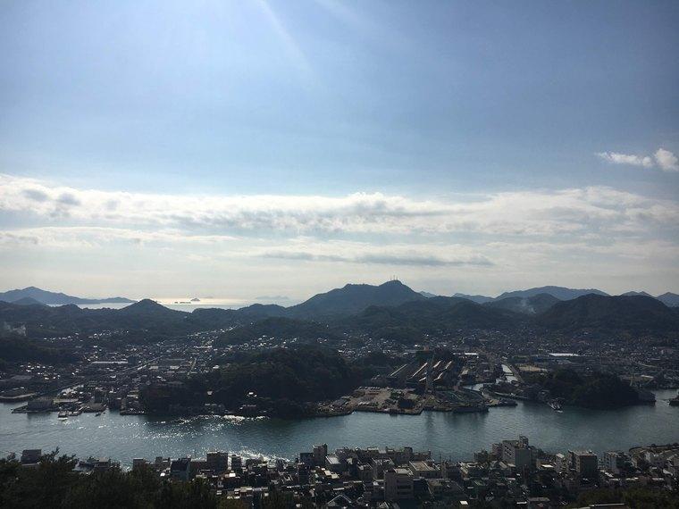 広島県・尾道市 千光寺山ロープウェイ 絶景