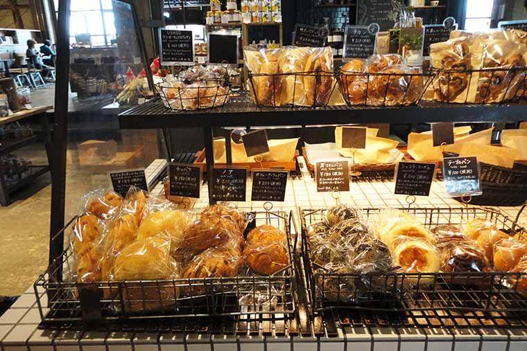 ButtiBakeryの自家製パン
