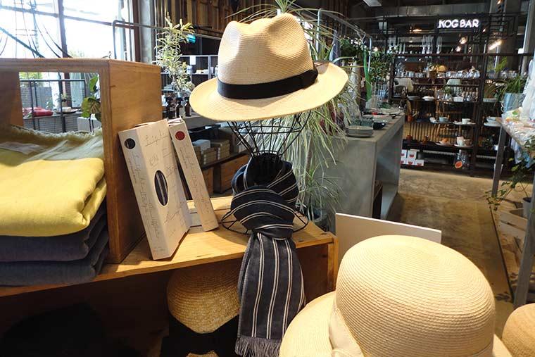 石田製帽の帽子