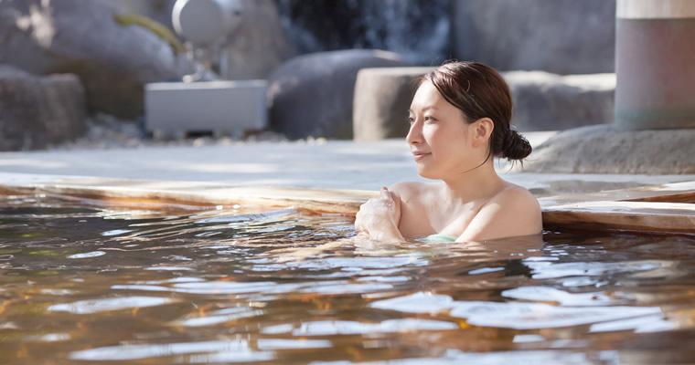 効果的な温泉の入り方