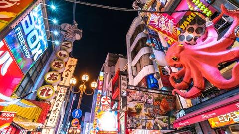 大阪で食いだおれ!10大グルメを2泊3日で食べまくりの旅