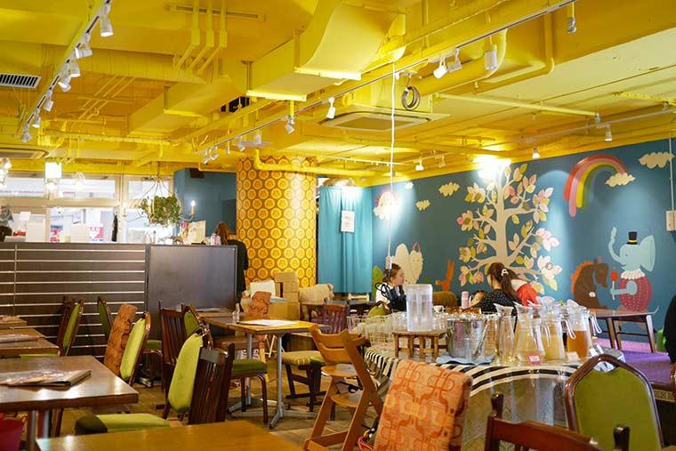 大阪 cafe 太陽の塔NAMBA CITY店
