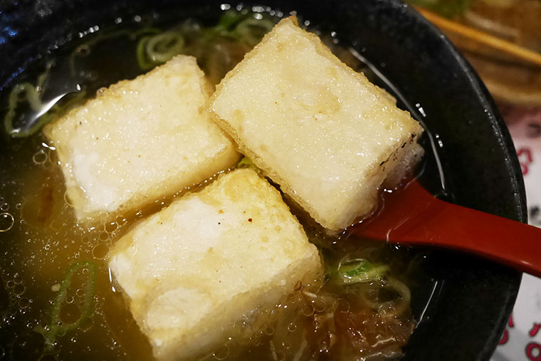 大阪 串かつ カドヤ 揚げ出し豆腐