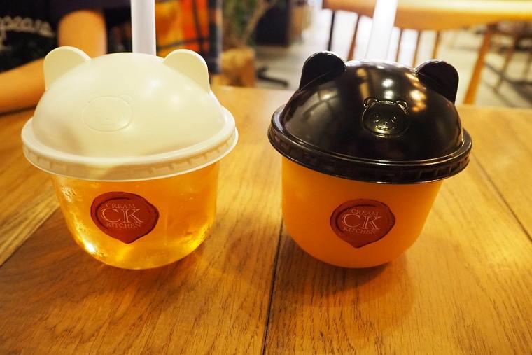 クリームキッチンのドリンクカップ