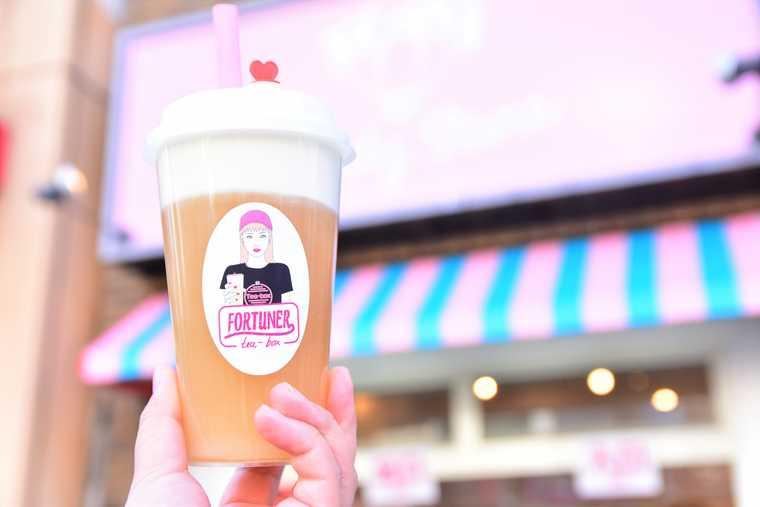 大須商店街 「FORTUNER tea-box」
