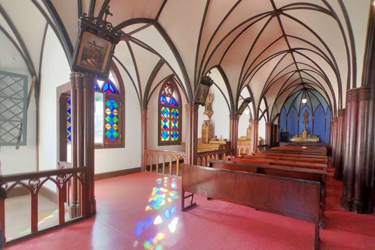 ゴシック様式の大浦天主堂