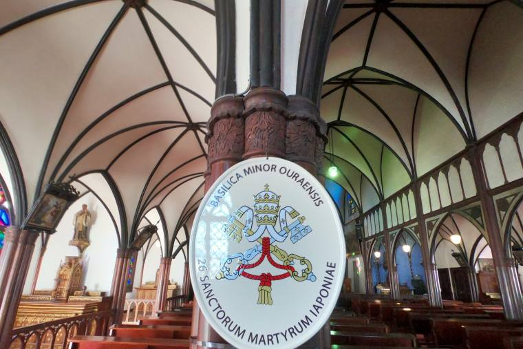 「小バジリカ」の教会堂に認定された大浦天主堂