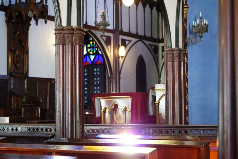 大浦天主堂では結婚式を挙げることもできる