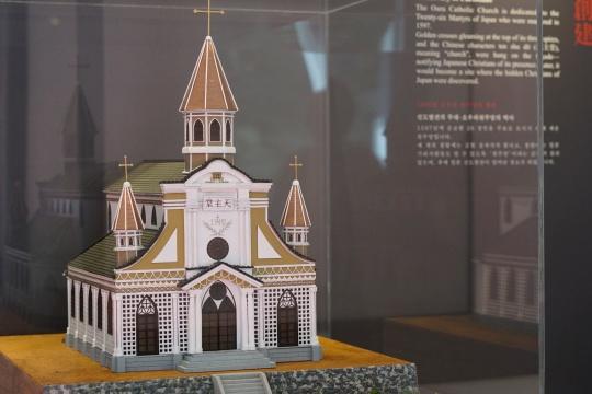 大浦天主堂の模型