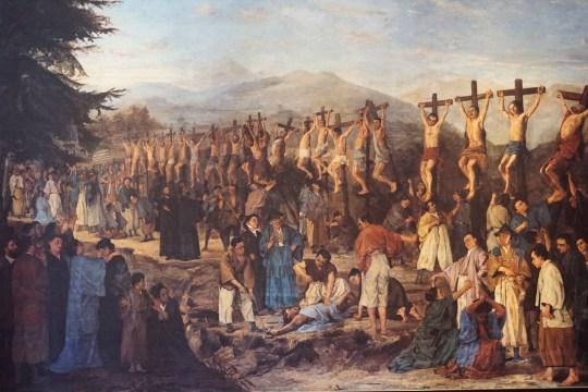 日本二十六聖人殉教図