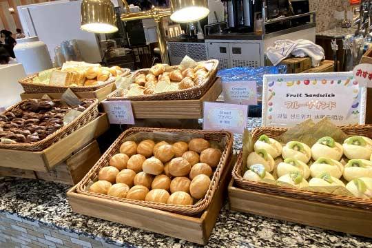 ザ パーク フロントホテル アット ユニバーサル・スタジオ・ジャパン 朝食